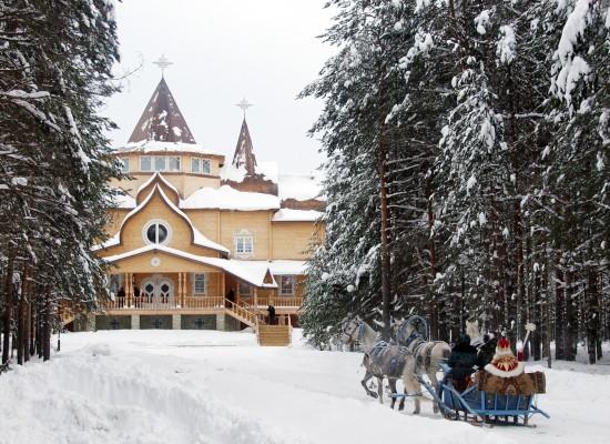 "Автобусная экскурсия ""Царство снега и мороза"" на вотчину Деда Мороза."