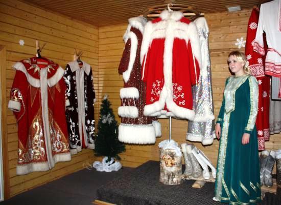 Экскурсия в дом моды Деда Мороза.